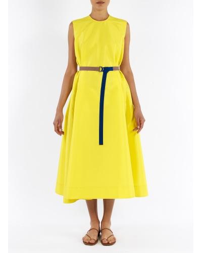 Tecno silk dress
