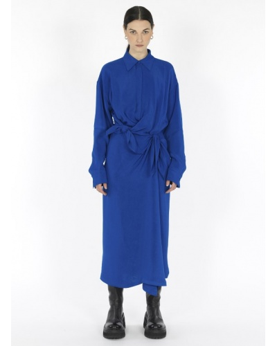 Double frontal knot dress